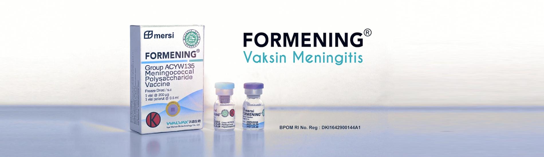 Formening Vaksin Meningitis