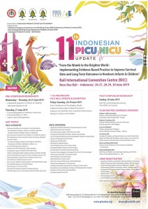 The 11th Indonesian PICU NICU Update @ Bali International Convention Centre