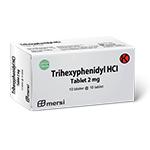 TRIHEXYPHENIDYL HCL 2