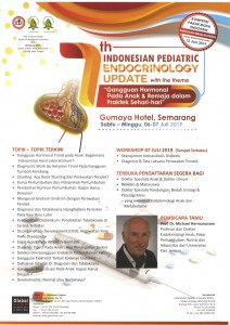 7th Indonesian Pediatric Endocrinology Update @ Gumaya Tower Hotel